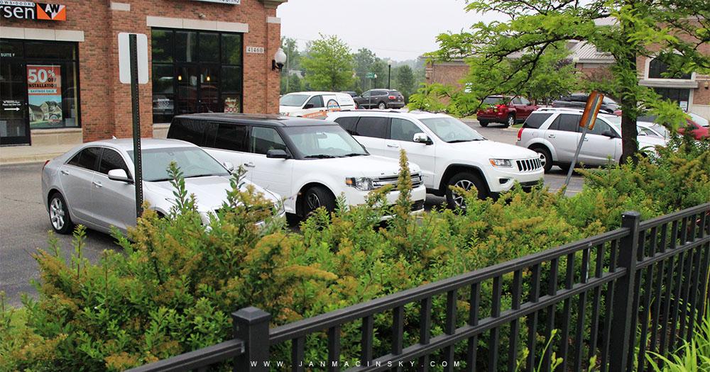 Ford FLEX - Okopírovaný LAND ROVER