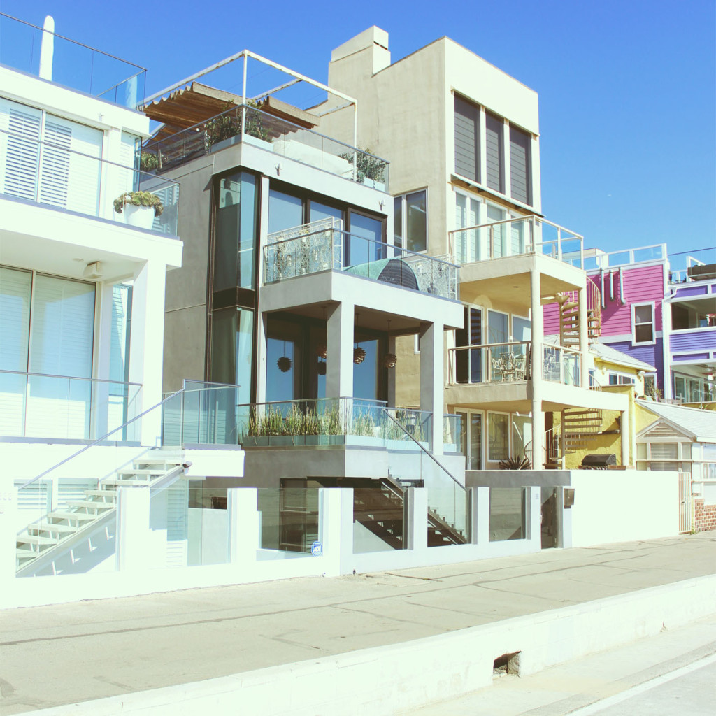 moderne domy santa monica
