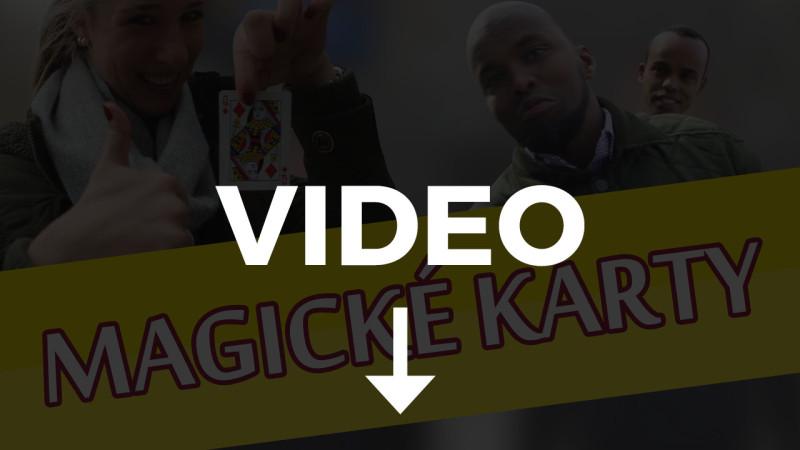 magicke karty video