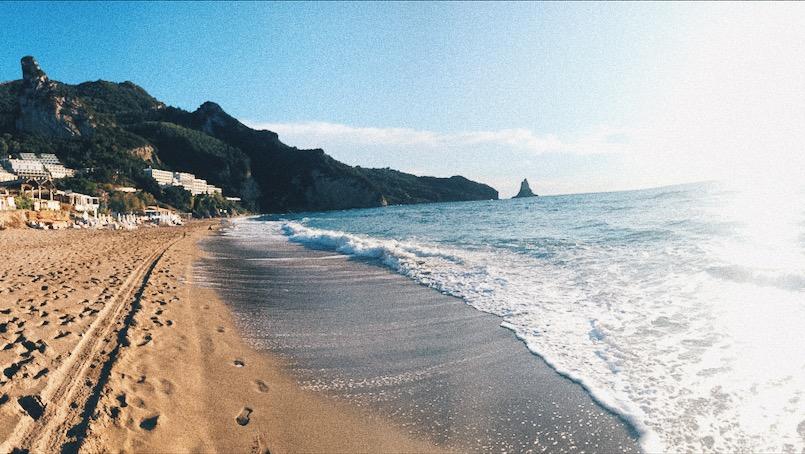 Agios Gordios plaz