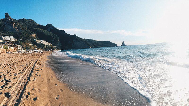 plaze na Korfu