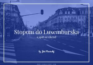 Luxembursko stopovanie