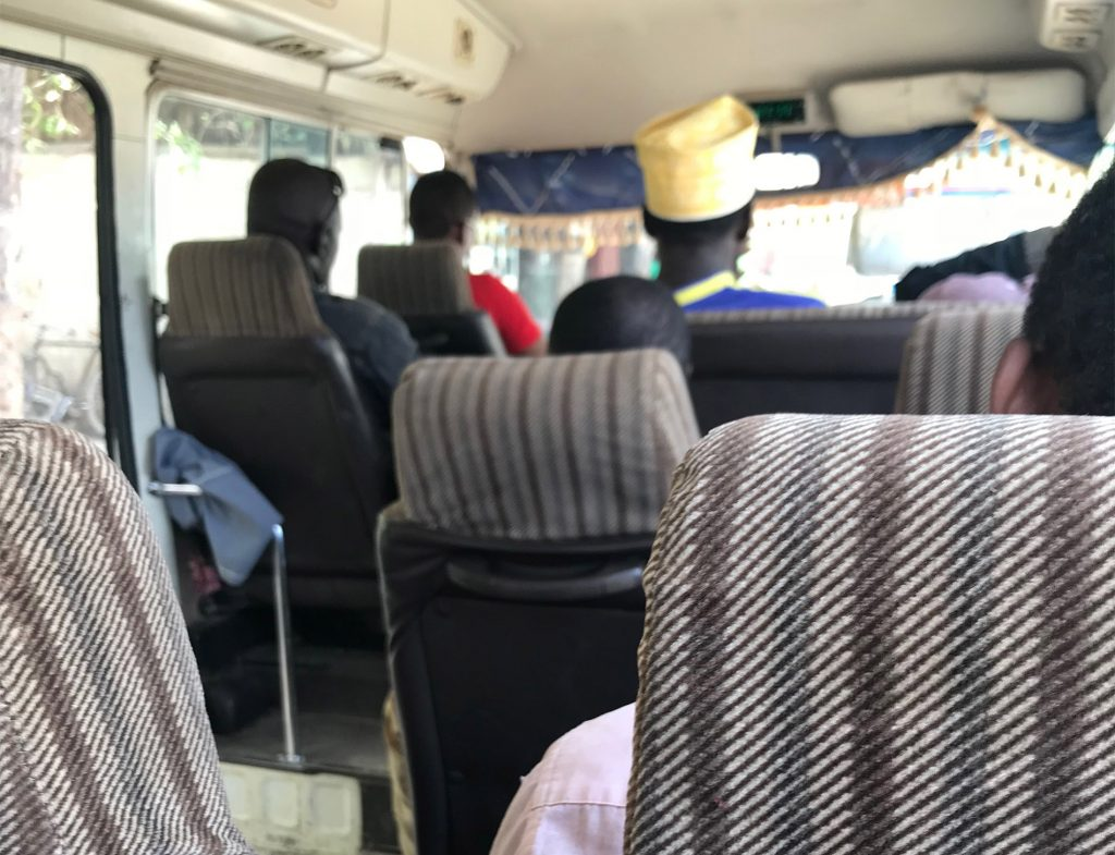 Dala Dala verzia minibus