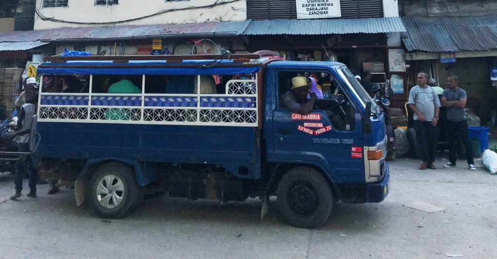 Dala Dala verzia nákladné auto